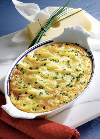 Hauptgerichte: Allgäuer Kartoffelgratin (Vegetarier geeignet) - Foto: Wirths PR