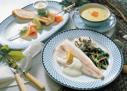 Extra-Menue: Fischmenue mit Kabeljau - Foto: Wirths PR