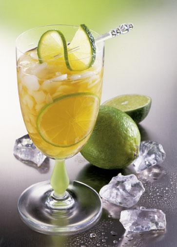 Eisteerezept: Lemon-Tee (Vegan/Vegetarisch) - Foto: Wirths PR