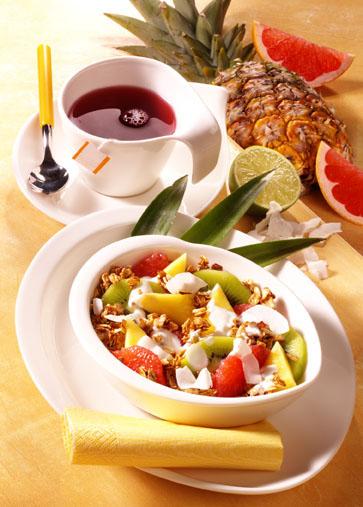 Müsli-Rezept: Pina-Colada-Müsli - Rasta Rasta Man (Vegetarier geeignet) - Foto: Wirths PR