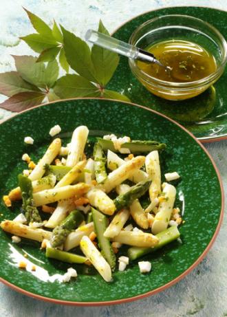 Spargelsalat (Vegetarier geeignet) - Foto: Wirths PR