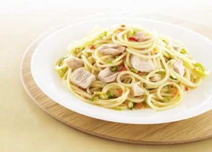 Schnelle Gerichte: Chili-Spaghetti mit Thunfisch - Foto: Wirths PR
