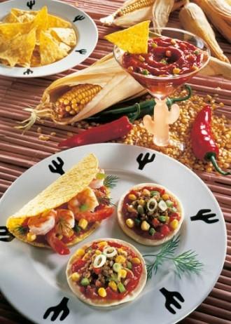 Snack-Rezept: Fiesta Mexicana (Feurige Snacks für jede Party) - Foto: Wirths PR