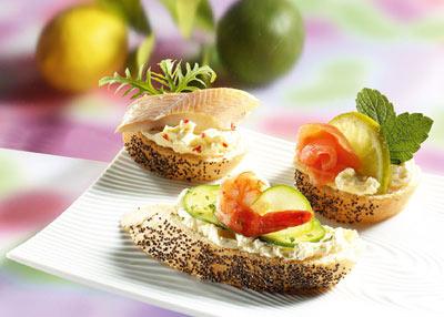 Snack-Rezept - 3 Partyhäppchen für´s Buffet - Foto: Wirths PR