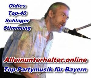 Banner Neu - Alleinunterhalter Bayern -