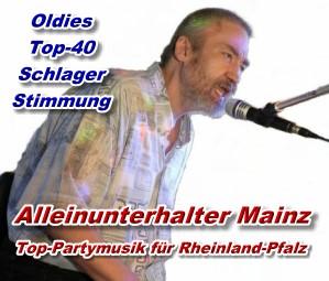 Banner Neu - Alleinunterhalter Mainz -