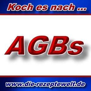 Rezeptewelt - Das Kochportal - AGBs -