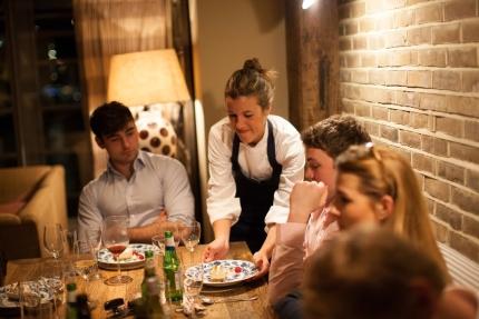 LBA- Chef Serving 12