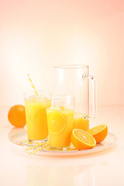 Orangensaft Still